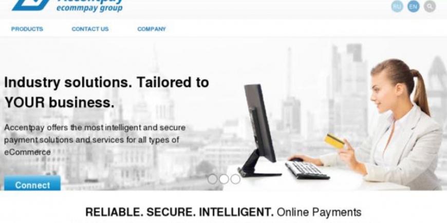 Website AccentPay 2