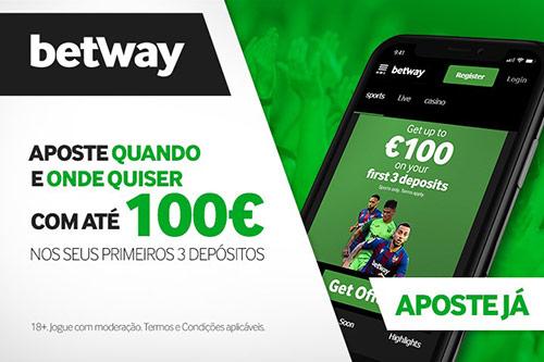 Apostas mobile e Betway app