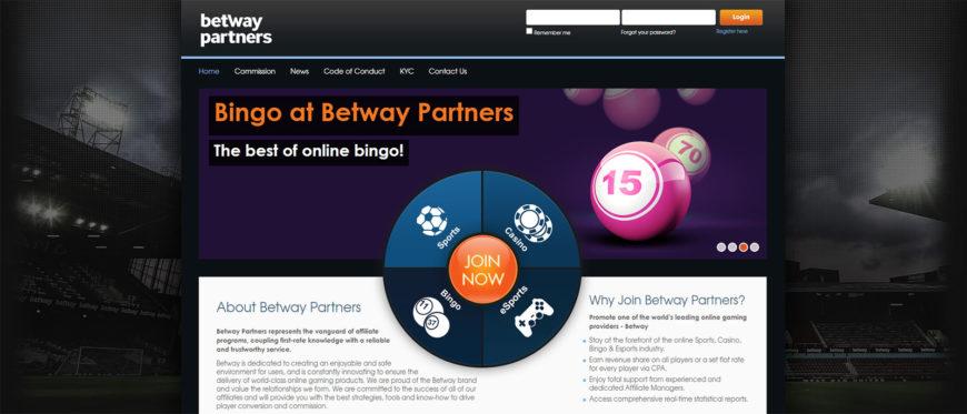 Betway - Programa de Afiliados