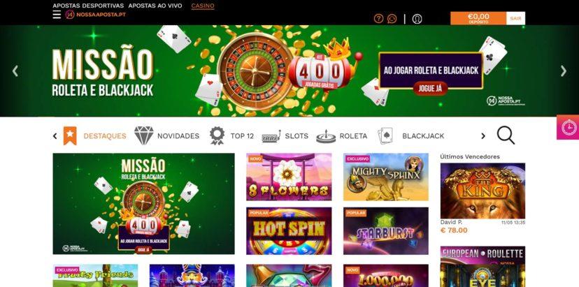 NossaAposta.pt Casino