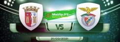 Braga vs Benfica – 21/03/2021