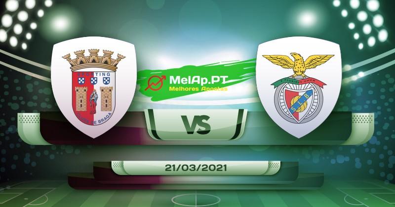 Braga vs Benfica - 21/03/2021