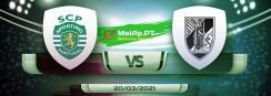 Sporting vs Vitória de guimarães 20/03/2021
