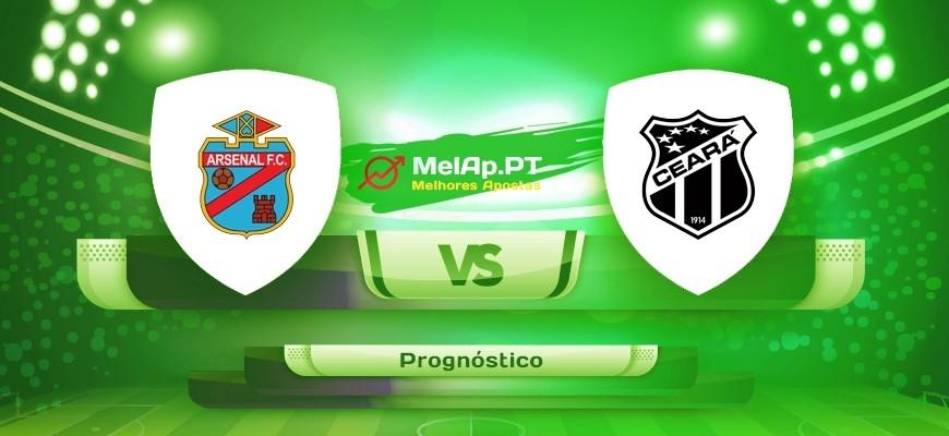Arsenal de Sarandi vs Ceará SC CE – 28/04-03:30