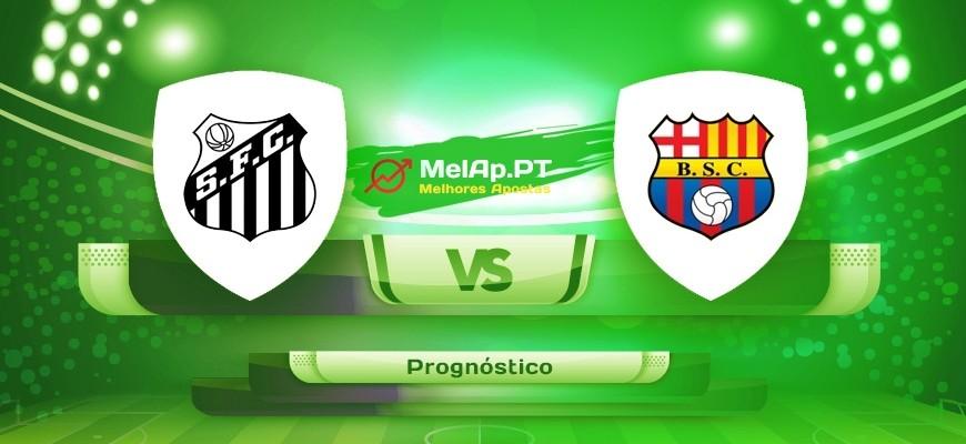 Santos vs Barcelona Guayaquil – 21/04-01:15