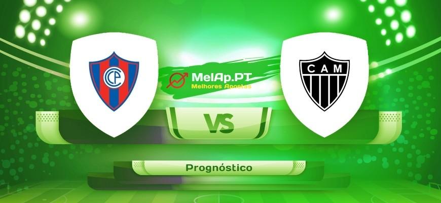 Cerro Porteno vs Atletico Mineiro – 20-05-2021 00:00 UTC-0