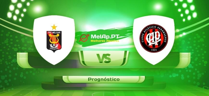 Melgar vs CA Paranaense PR – 05/05-03:30