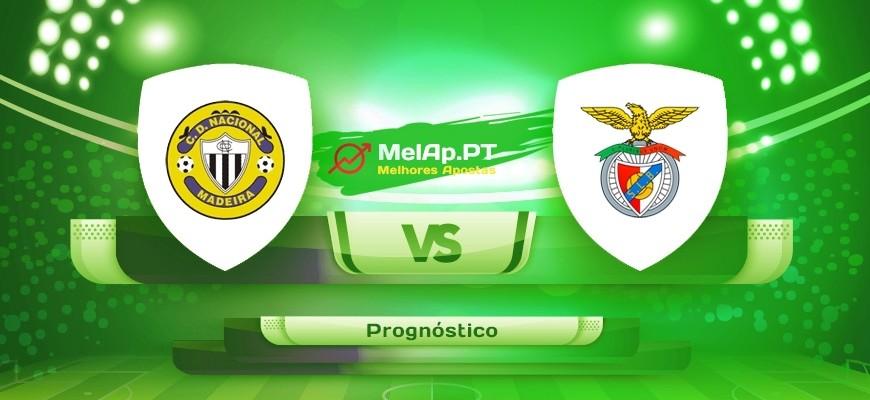 Nacional Madeira vs Benfica – 11-05-2021 17:00 UTC-0