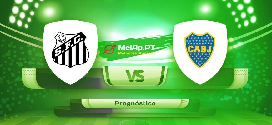 Santos vs Boca Juniors – 11-05-2021 22:15 UTC-0