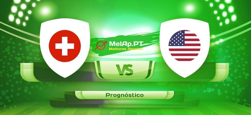 Suíça vs EUA – 30-05-2021 18:15 UTC-0