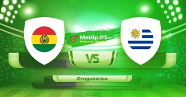 Bolívia vs Uruguai - 24-06-2021 21:00 UTC-0