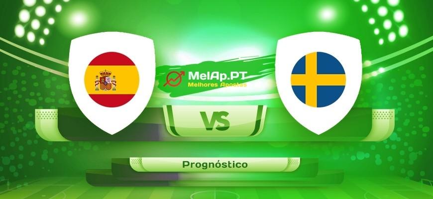 Espanha vs Suécia – 14-06-2021 19:00 UTC-0