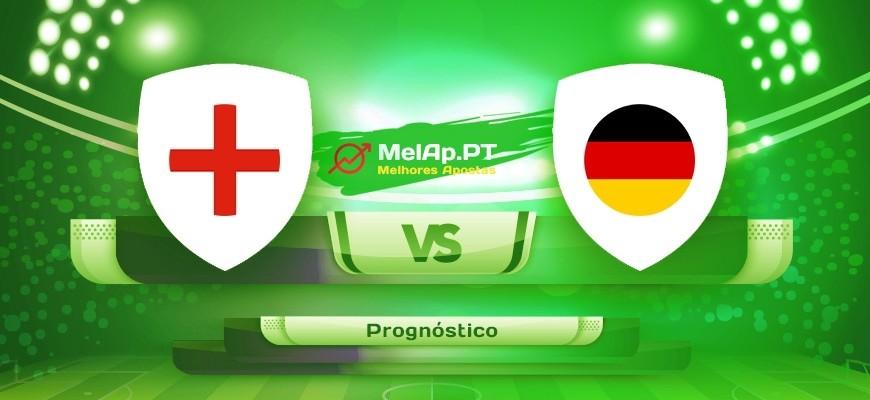 Inglaterra vs Alemanha – 29-06-2021 16:00 UTC-0