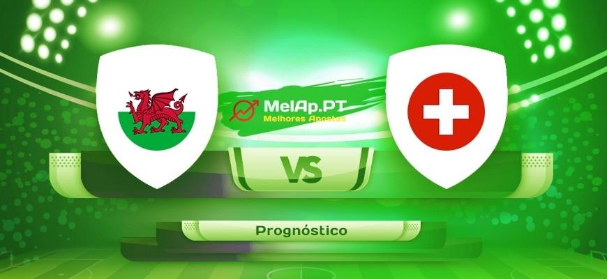 País De Gales vs Suíça – 12-06-2021 13:00 UTC-0