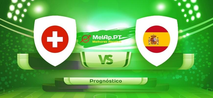 Suíça vs Espanha – 02-07-2021 16:00 UTC-0