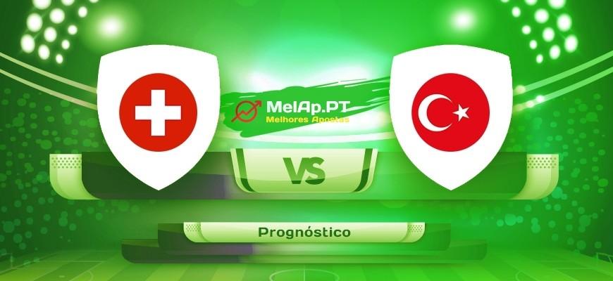 Suíça vs Turquia – 20-06-2021 16:00 UTC-0