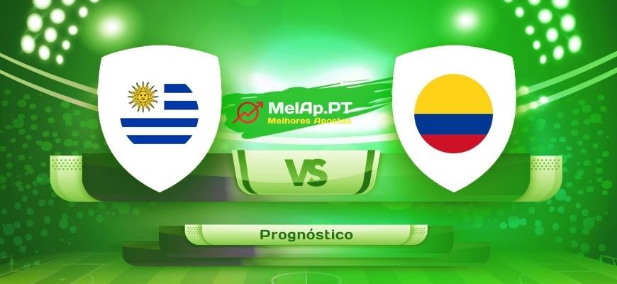 Uruguai vs Colômbia – 03-07-2021 22:00 UTC-0