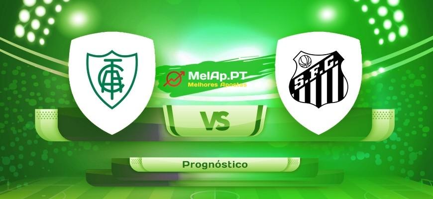 América FC MG vs Santos – 03-07-2021 22:00 UTC-0