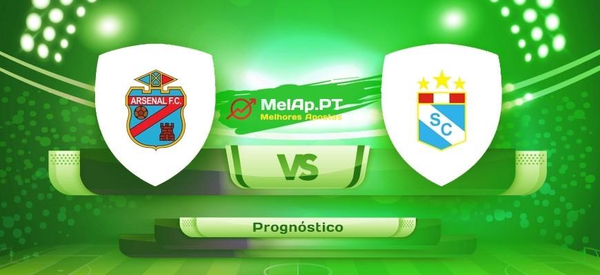 Arsenal de Sarandi vs Sporting Cristal – 21-07-2021 22:15 UTC-0