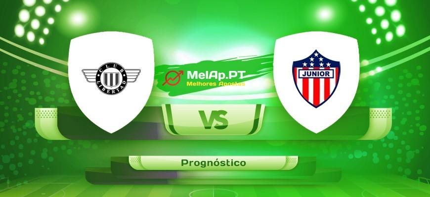 Club Libertad vs CD Junior FC – 22-07-2021 00:30 UTC-0