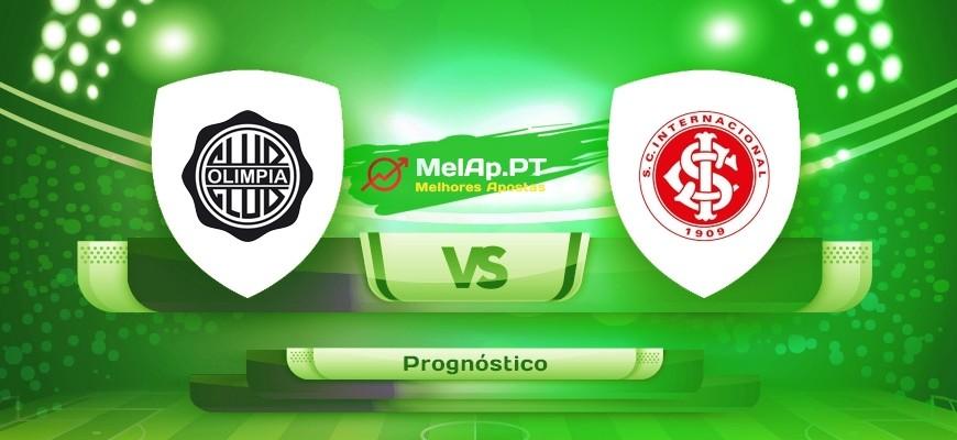Club Olimpia vs Internacional – 16-07-2021 00:30 UTC-0