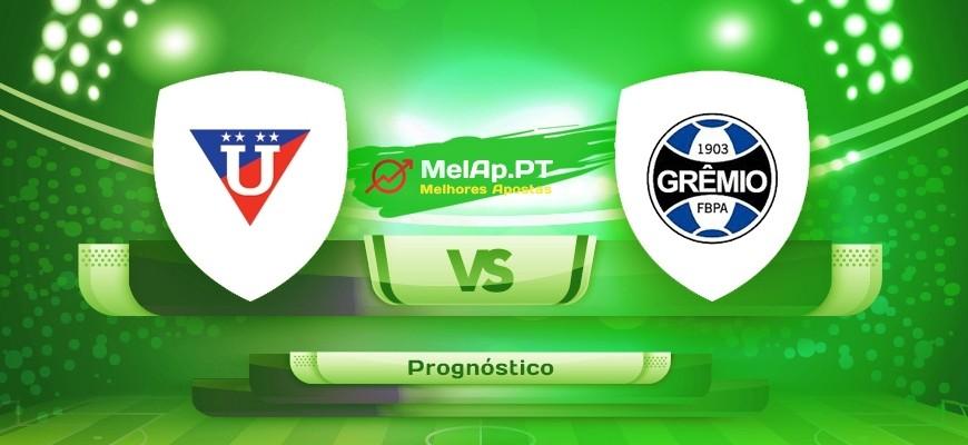 LDU Quito vs Gremio FB Porto Alegrense RS – 13-07-2021 22:15 UTC-0