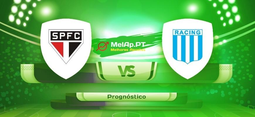 SAO Paulo vs Racing Avallaneda – 14-07-2021 00:30 UTC-0