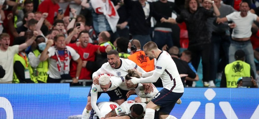 A Inglaterra quer o título em Wembley como em 1966   Será que jogar em casa desempenha um papel?   História das equipas vencedoras em casa - Melap.PT