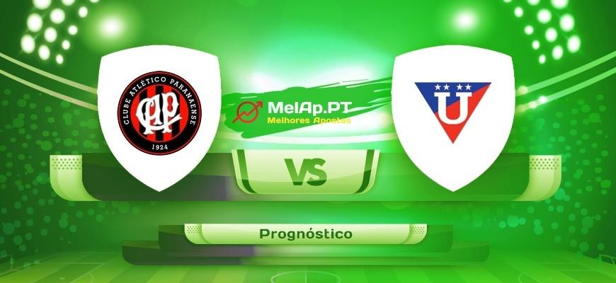 CA Paranaense PR vs LDU Quito – 19-08-2021 22:15 UTC-0