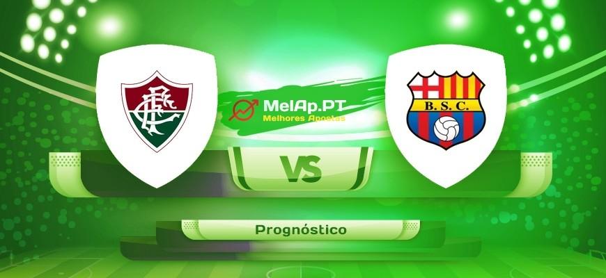 Fluminense RJ vs Barcelona Guayaquil – 13-08-2021 00:30 UTC-0