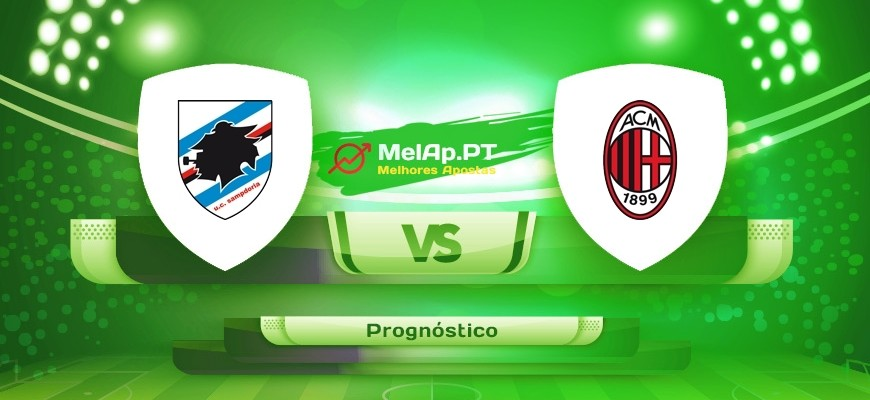 Sampdoria vs Ac Milan – 23-08-2021 18:45 UTC-0