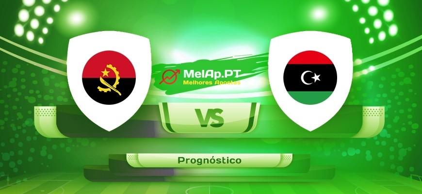 Angola vs Líbia – 07-09-2021 19:00 UTC-0